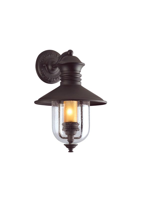 Troy Lighting B9360-D Old Town 1 Light Dark Sky Outdoor Wall Sconce