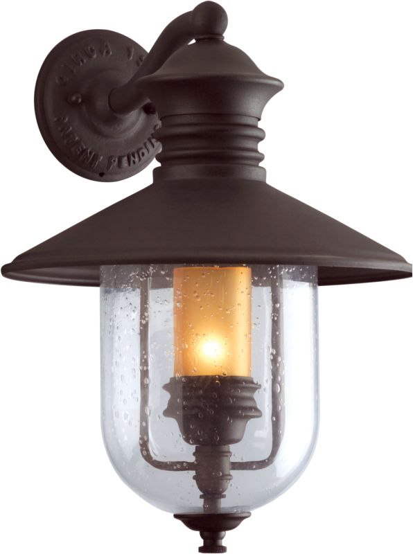 "Troy Lighting B9361 Old Town 1 Light 19"" Outdoor Wall Sconce with"