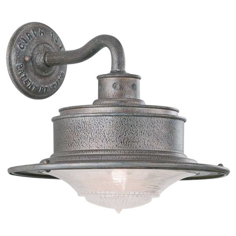 Troy Lighting B9390OG Galvanized Industrial South Street Wall Sconce