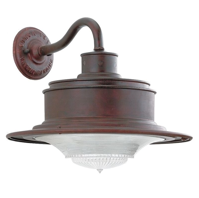 Troy Lighting B9390OR Old Rust Industrial South Street Wall Sconce
