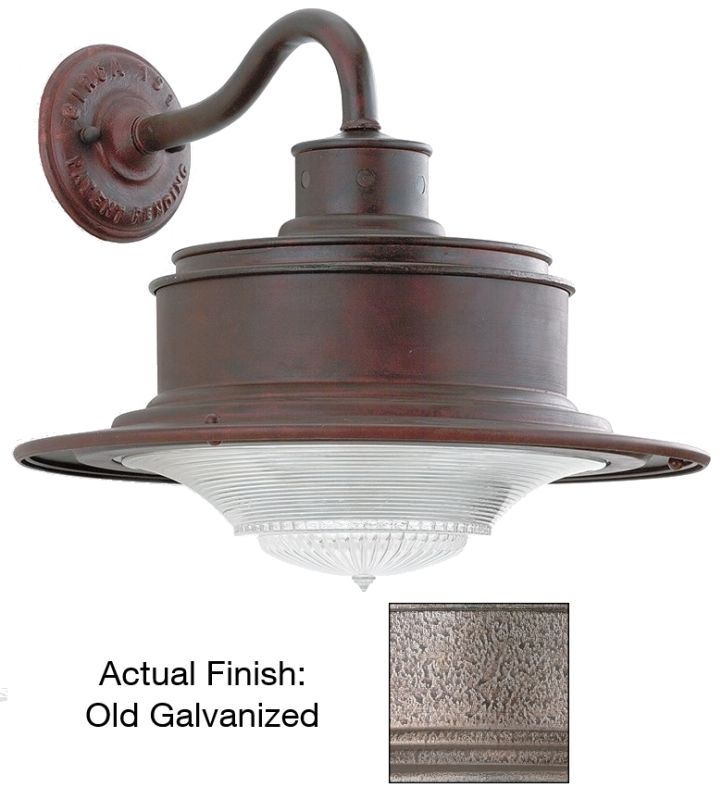 Troy Lighting B9391OG Galvanized Industrial South Street Wall Sconce