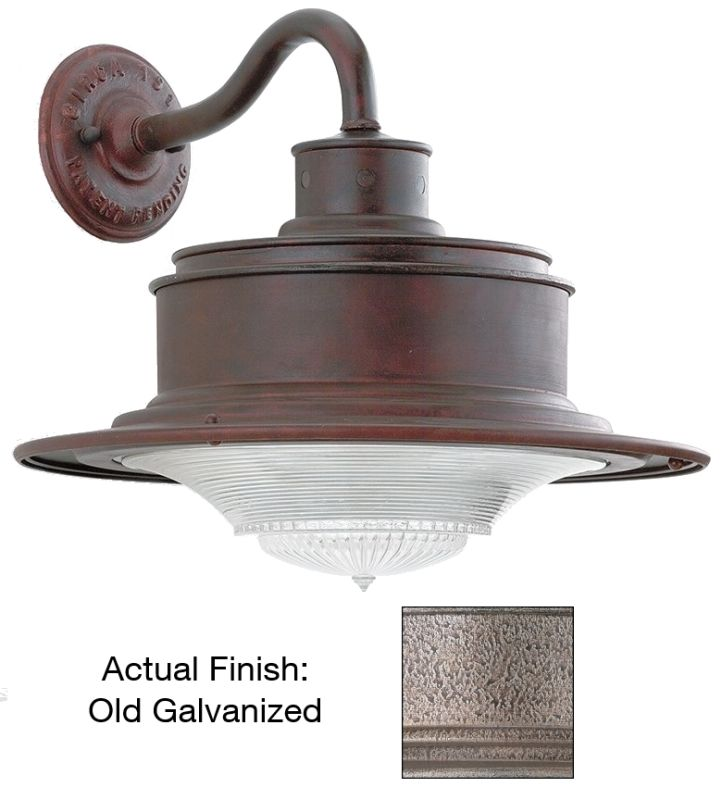 Troy Lighting B9392OG Galvanized Industrial South Street Wall Sconce