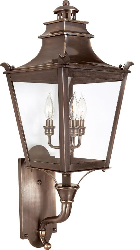 Troy Lighting B9493 Dorchester 3 Light Outdoor Wall Sconce English
