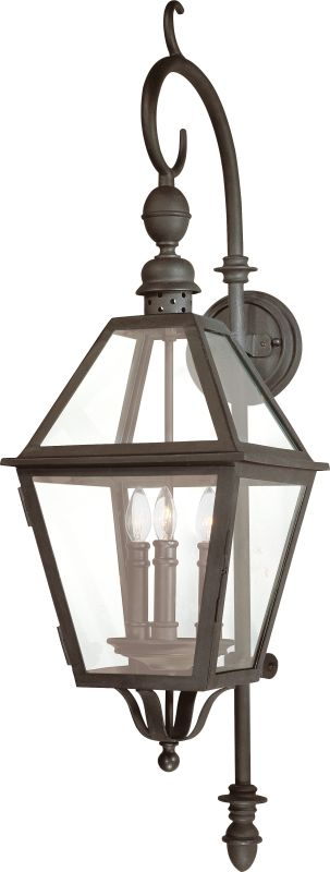 "Troy Lighting B9622 Townsend 3 Light 44"" Outdoor Wall Sconce Natural"