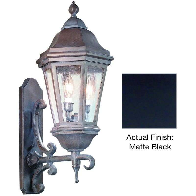 """Troy Lighting BCD6831 Verona 2 Light 25"""" Outdoor Wall Sconce with"""
