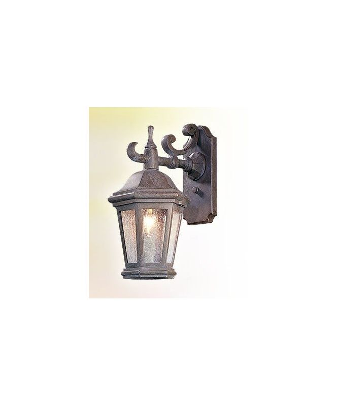 "Troy Lighting BCD6890 Verona 1 Light 14"" Outdoor Wall Sconce with"