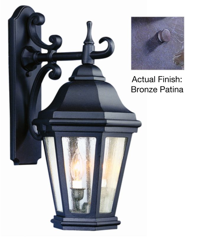 """Troy Lighting BCD6891 Verona 2 Light 22"""" Outdoor Wall Sconce with"""