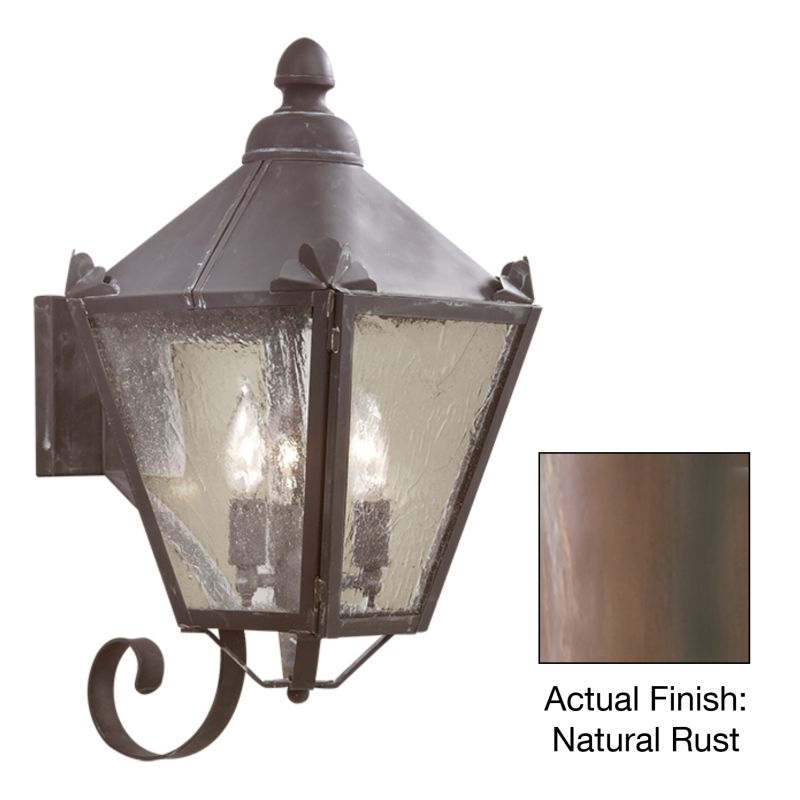 "Troy Lighting BCD8943 Preston 3 Light 20"" Outdoor Wall Sconce with"