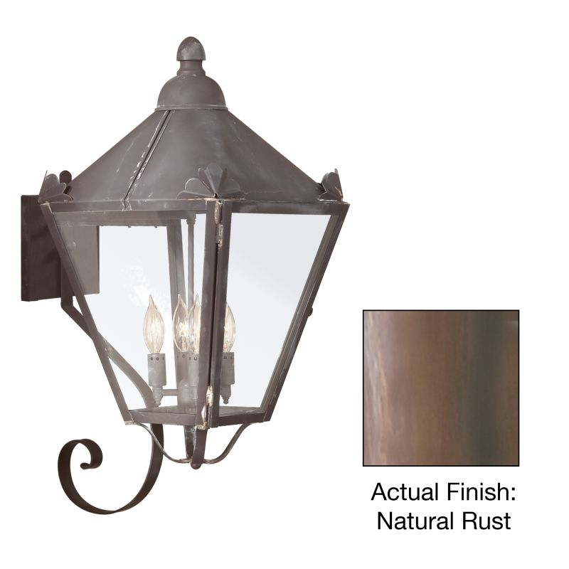 "Troy Lighting BCD8946 Preston 4 Light 26"" Outdoor Wall Sconce with"