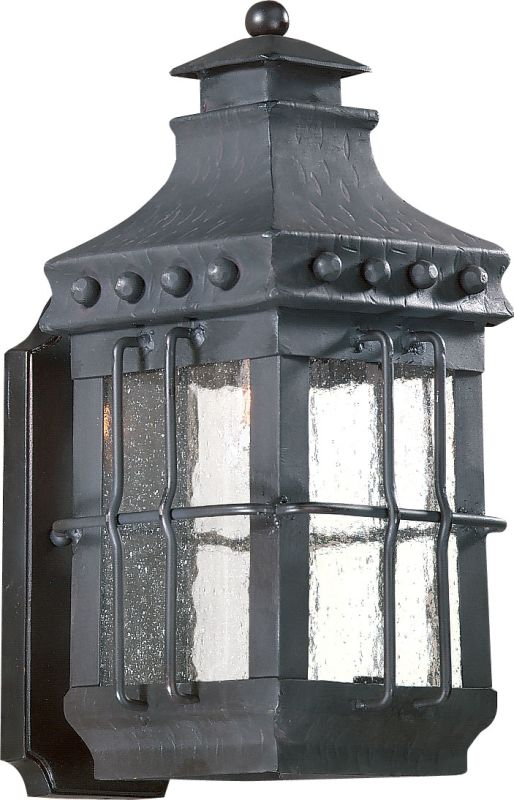 Troy Lighting BCD8970 Dover 1 Light Outdoor Wall Sconce with Seedy Sale $358.00 ITEM: bci525295 ID#:BCD8970NB UPC: 782042475212 :