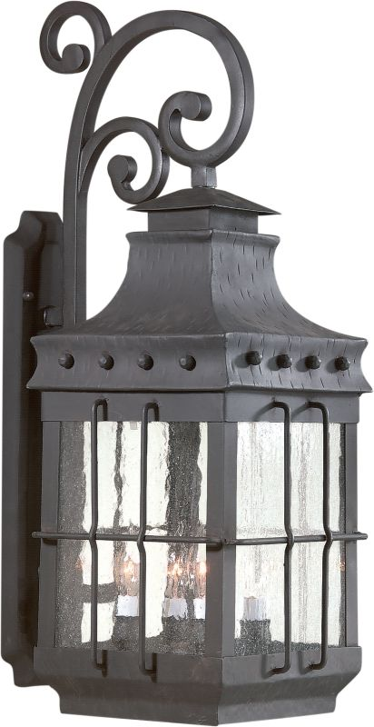Troy Lighting BCD8974 Dover 4 Light Outdoor Wall Sconce with Seedy Sale $982.00 ITEM: bci525300 ID#:BCD8974NB UPC: 782042478503 :