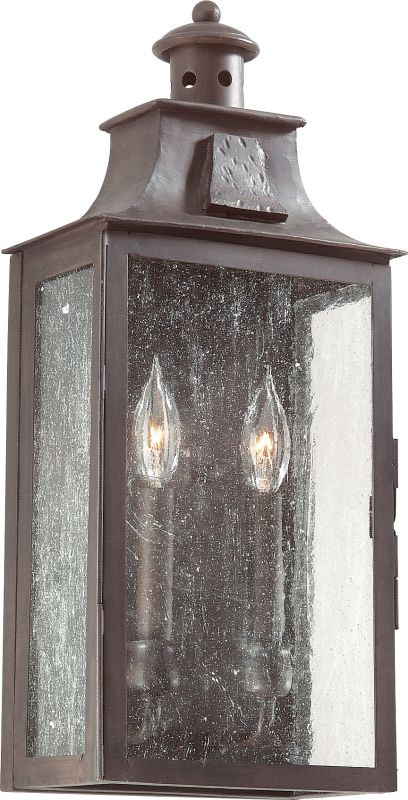"Troy Lighting BCD9008 Newton 2 Light 20"" Outdoor Wall Sconce with"