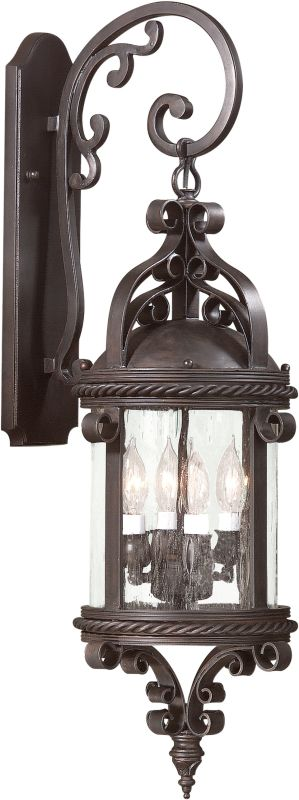 Troy Lighting BCD9122 Pamplona 4 Light Outdoor Wall Sconce Old Bronze