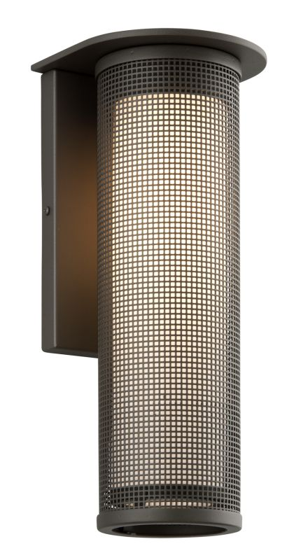 """Troy Lighting BF3743 Hive 1 Light 17"""" CFL Outdoor Wall Sconce Bronze /"""
