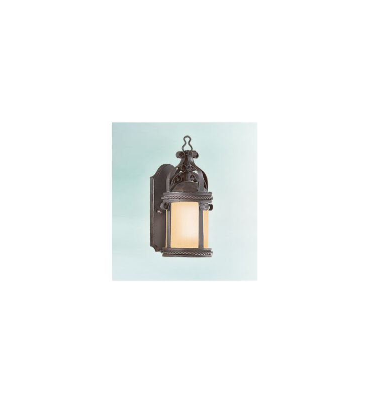 Troy Lighting BF9120-D Pamplona 1 Light CFL Dark Sky Outdoor Wall