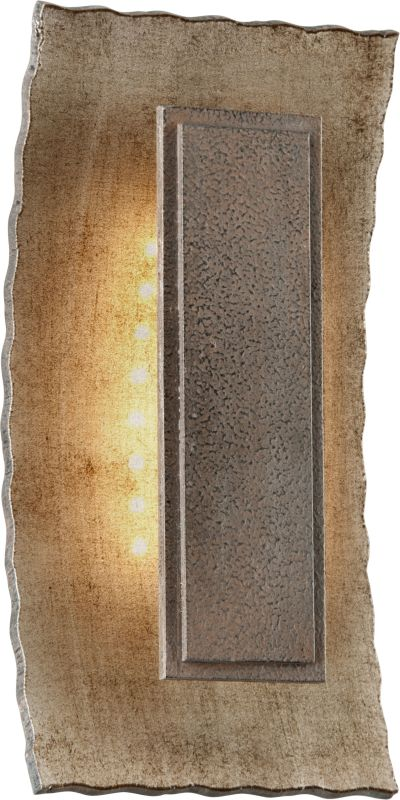 Troy Lighting BL3731 Warm Silver Contemporary Ginza Wall Sconce