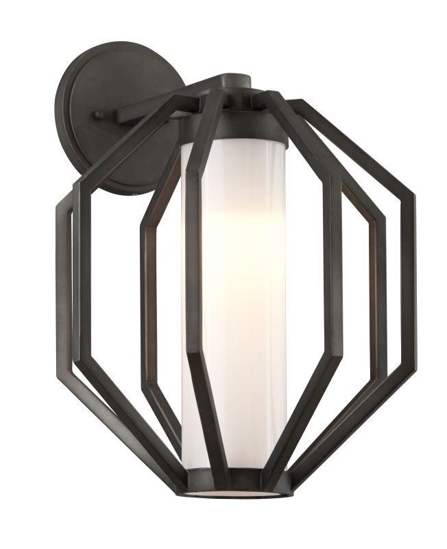 "Troy Lighting BL4983 Boundary 1 Light 12.5"" Wide Hand Forged LED Sale $298.00 ITEM: bci2876153 ID#:BL4983 UPC: 782042103573 :"