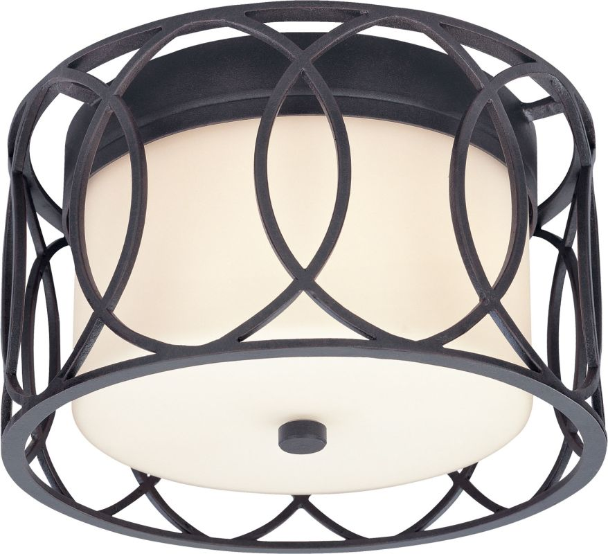 Troy Lighting C1280 Sausalito 2 Light Flush Mount Ceiling Fixture Deep Sale $302.00 ITEM: bci1597966 ID#:C1280DB UPC: 782042758681 :
