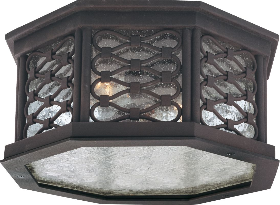 Troy Lighting C2370 Los Olivos 2 Light Flush Mount Outdoor Ceiling