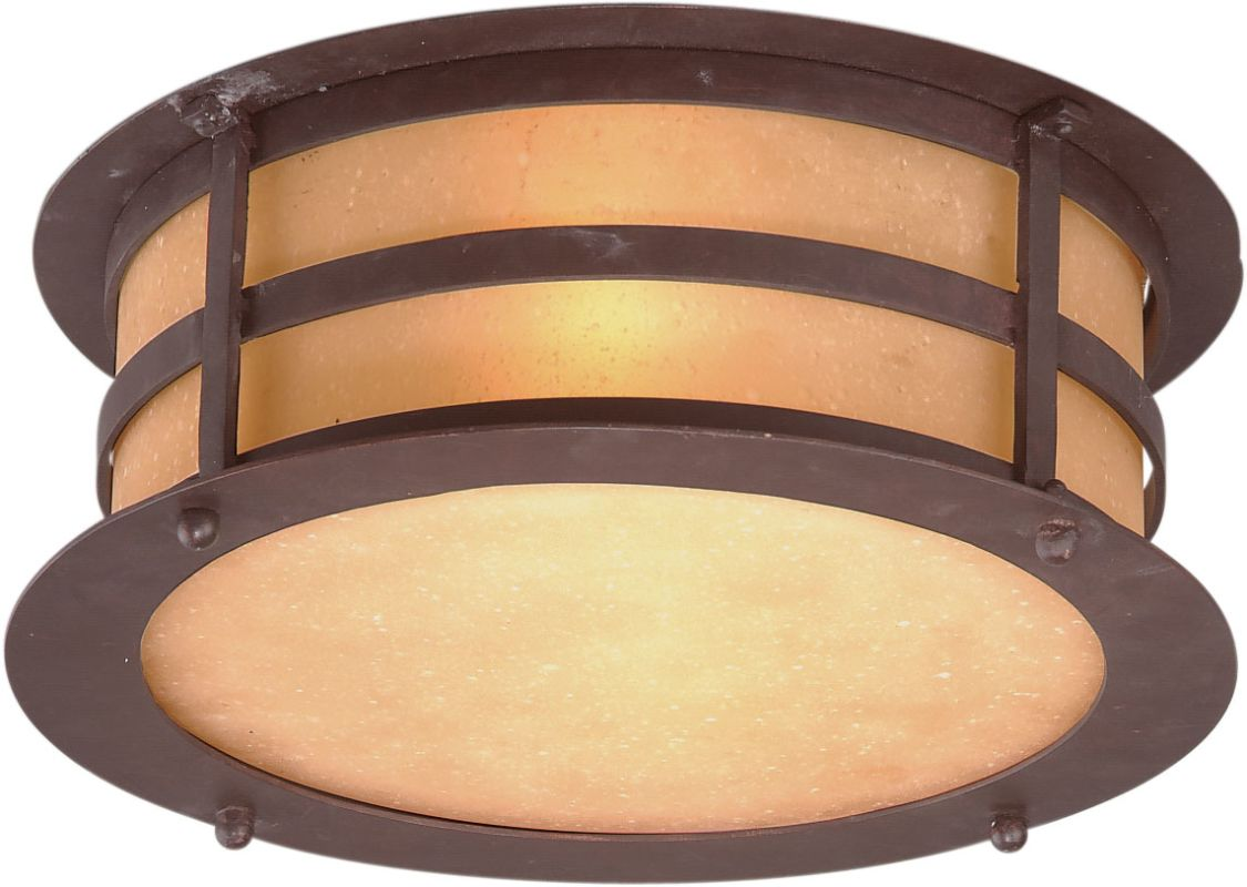 Troy Lighting C9251 Aspen 2 Light Flush Mount Outdoor Ceiling Fixture