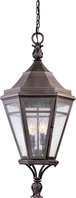 Troy Lighting F1277 Morgan Hill 4 Light Outdoor Lantern Pendant with