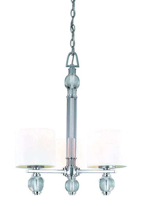 Troy Lighting F1588PC Polished Chrome Contemporary Bentley Chandelier