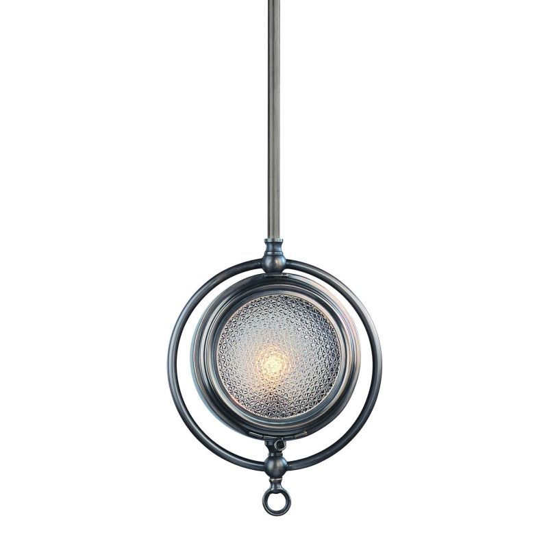 Troy Lighting F2267EB English Bonze Nautilus 1 Light 13.25