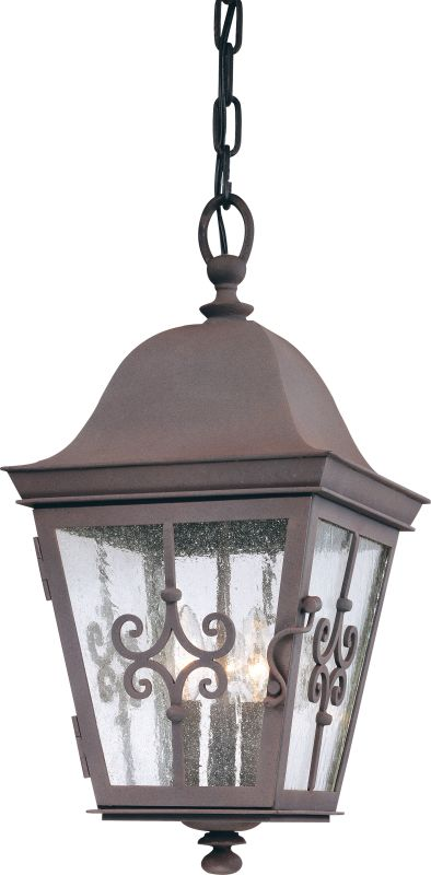 Troy Lighting F2358 Markham 3 Light Outdoor Lantern Pendant with Seedy