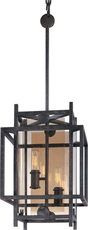 Troy Lighting F2492FI French Iron Contemporary Crosby Chandelier
