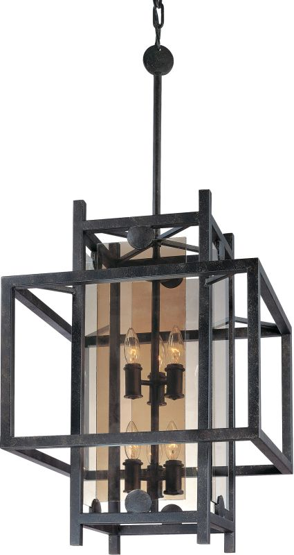 Troy Lighting F2493FI French Iron Contemporary Crosby Chandelier Sale $900.00 ITEM: bci1597649 ID#:F2493FI UPC: 782042758803 :