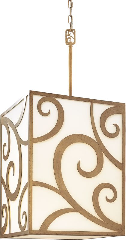 Troy Lighting F2756 Pierre 8 Light Hand-Worked Wrought Iron 39.25""