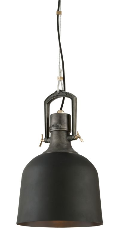 Troy Lighting F3545 Old Silver With Aged Brass Accents