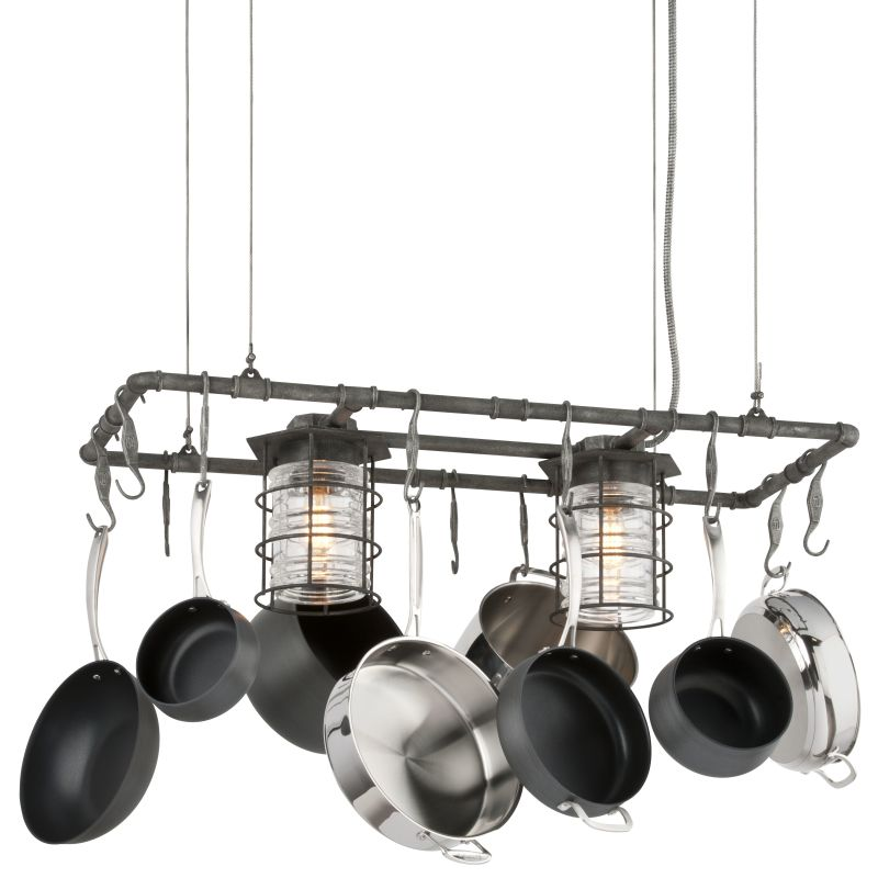 kitchen island pot rack lighting troy lighting f3798 aged pewter brunswick 2 light kitchen 24781