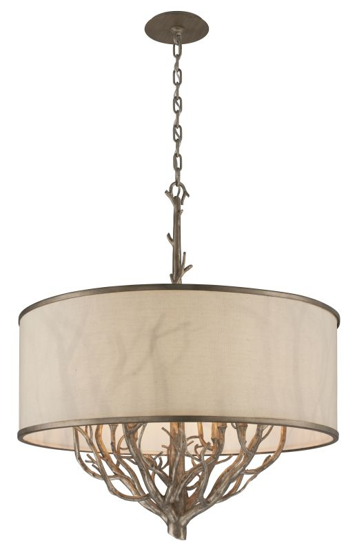 Troy Lighting F4108 Whitman 8 Light Pendant with Fabric Shade Vienna Sale $1702.00 ITEM: bci2362631 ID#:F4108 UPC: 782042845558 :