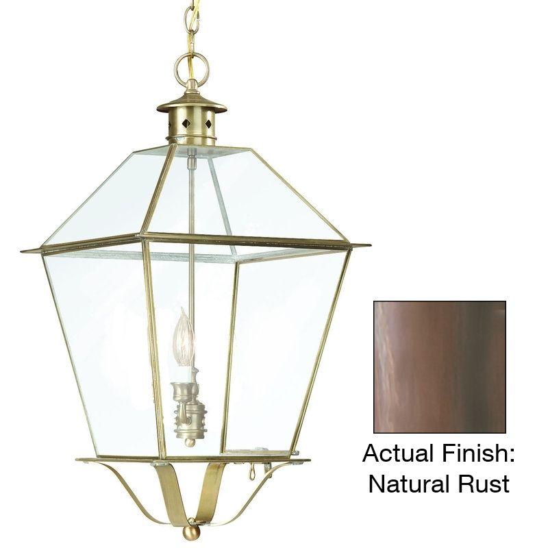 "Troy Lighting F8953 Montgomery 1 Light 16"" Outdoor Lantern Pendant"