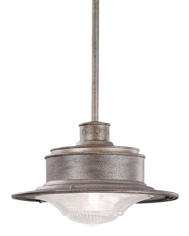 Troy Lighting F9396OG Old Galvanized Industrial South Street Pendant