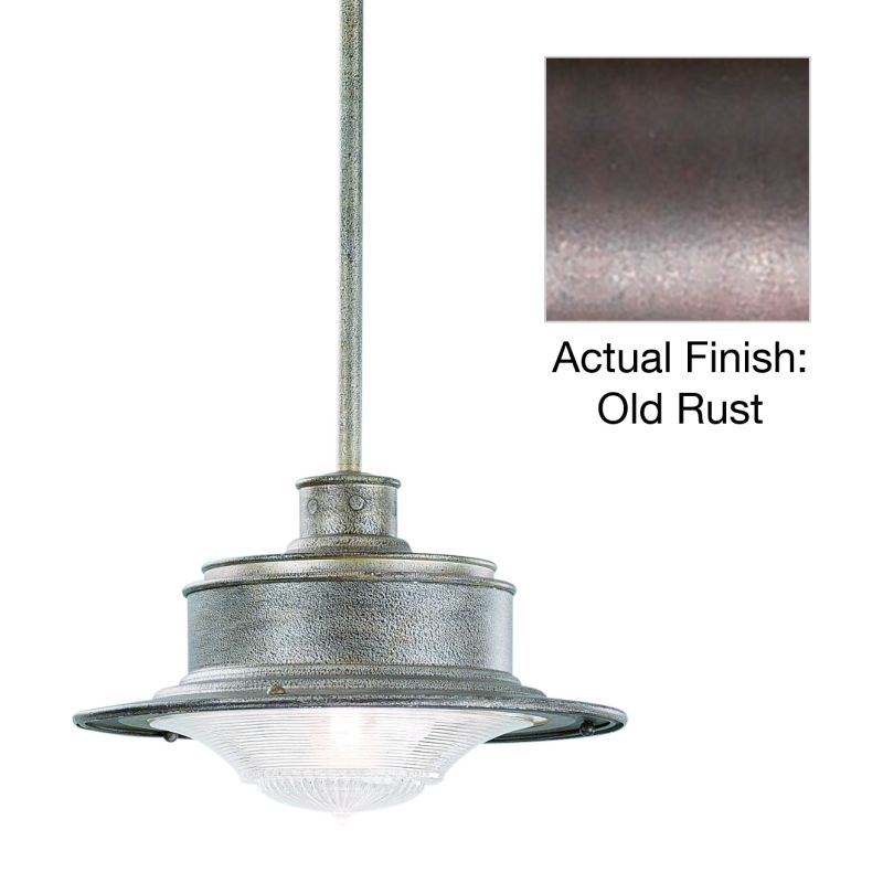 Troy Lighting F9396OR Old Rust Industrial South Street Pendant