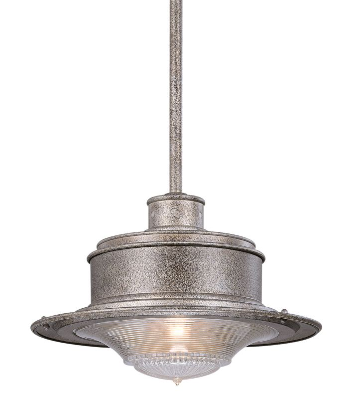 Troy Lighting F9397OG Old Galvanized Industrial South Street Pendant