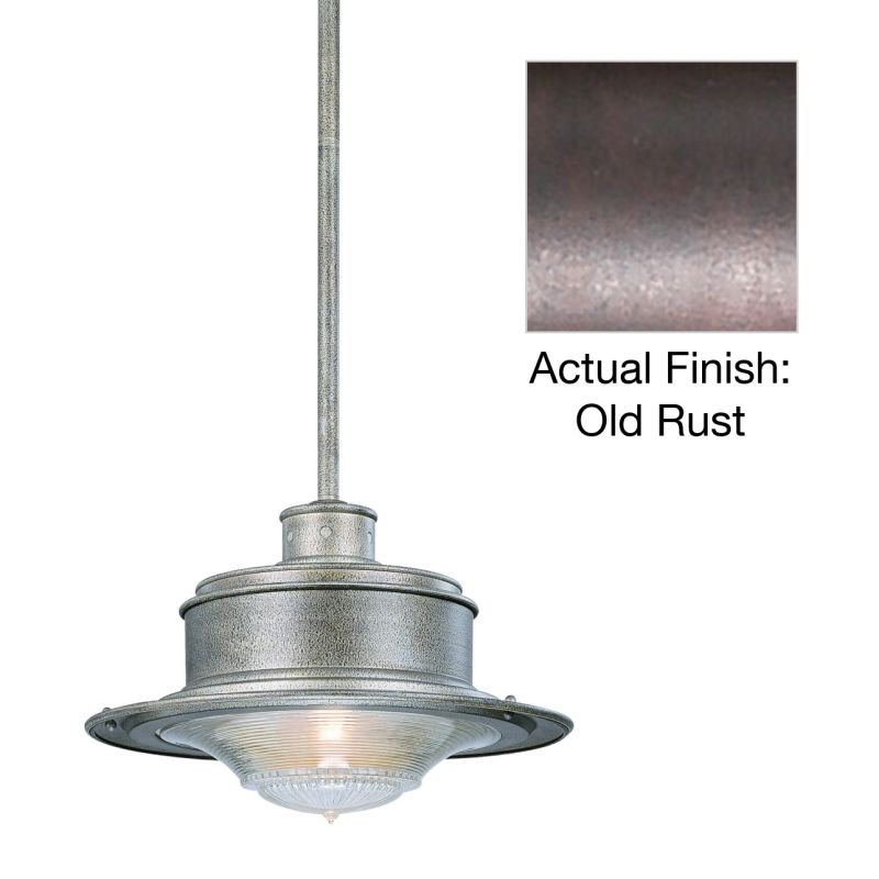 Troy Lighting F9397OR Old Rust Industrial South Street Pendant
