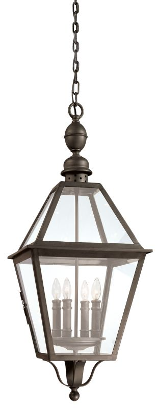 Troy Lighting F9628 Townsend 4 Light Outdoor Lantern Pendant Natural