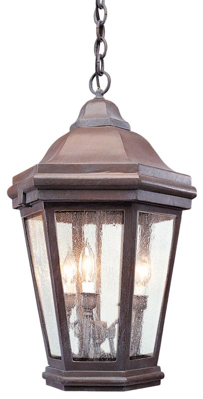 Troy Lighting FCD6895 Verona 3 Light Outdoor Lantern Pendant Bronze