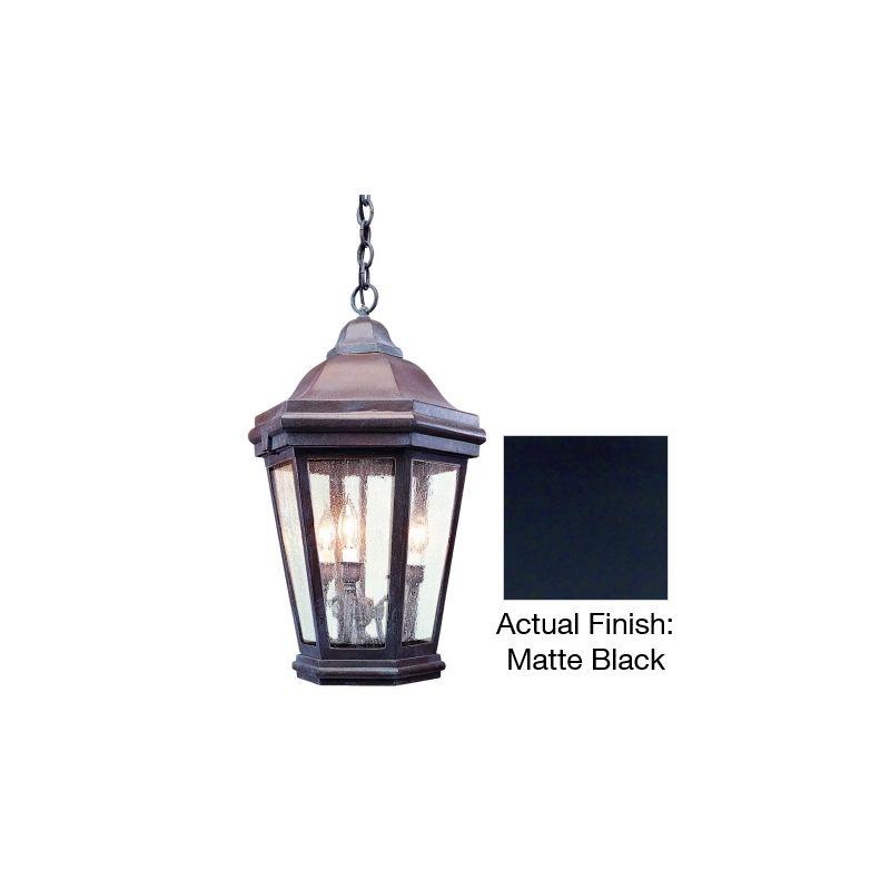 Troy Lighting FCD6895 Verona 3 Light Outdoor Lantern Pendant Matte