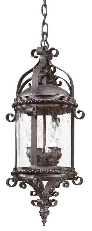 Troy Lighting FCD9124 Pamplona 4 Light Outdoor Pendant with Seedy Sale $628.00 ITEM: bci526482 ID#:FCD9124OBZ UPC: 782042482302 :