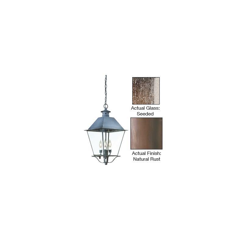 "Troy Lighting FCD9139 Montgomery 4 Light 25"" Outdoor Lantern Pendant"