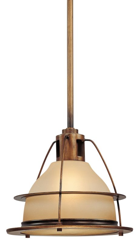 "Troy Lighting FF2058 Bristol Bay 1 Light 13"" CFL Industrial Pendant"