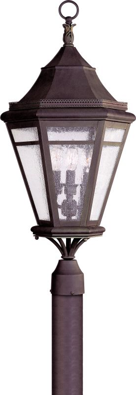 Troy Lighting P1274 Morgan Hill 3 Light Post Light with Seedy Glass Sale $844.00 ITEM: bci1597837 ID#:P1274NR UPC: 782042665729 :