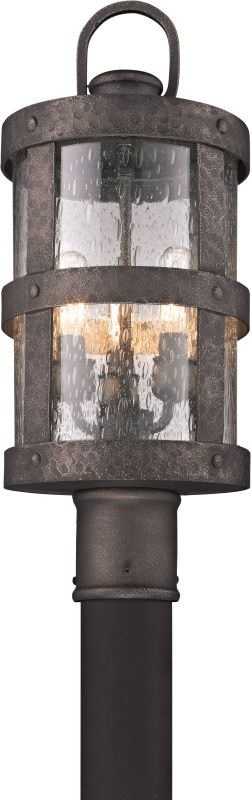 Troy Lighting P3316 Barbosa 3 Light Post Light with Seedy Glass Sale $418.00 ITEM: bci2065655 ID#:P3316 UPC: 782042792760 :