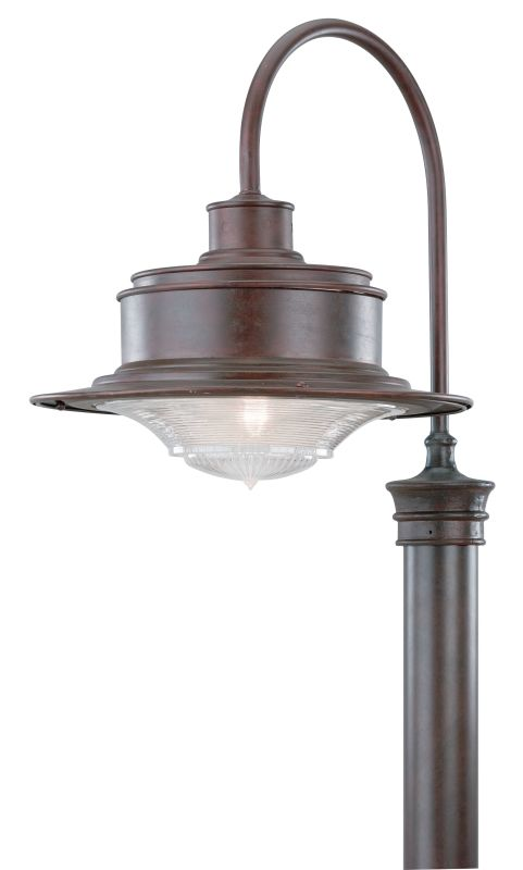 Troy Lighting P9394OR Old Rust Industrial South Street Post Light