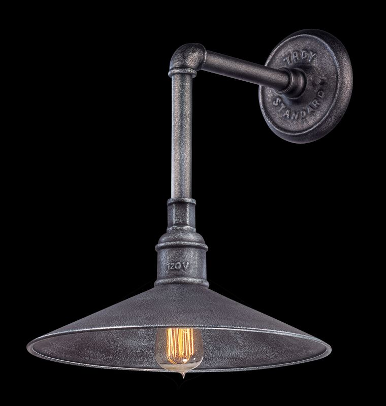"Troy Lighting B2772 Toledo 1 Light 17.25"" High Wall Sconce Old Silver"
