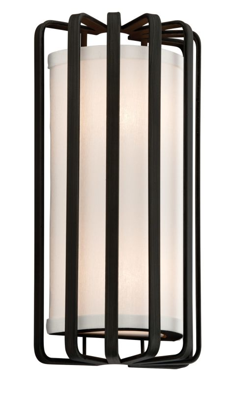 Troy Lighting BF2811GR-L Graphite Contemporary Drum Wall Sconce Sale $304.00 ITEM: bci1912848 ID#:BF2811GR-L UPC: 782042766327 :